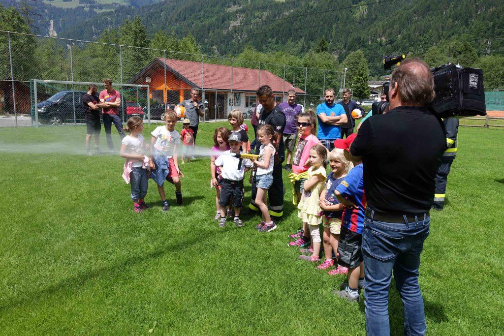 St. Gallenkirch: Wasserspaß mit heulenden Sirenen