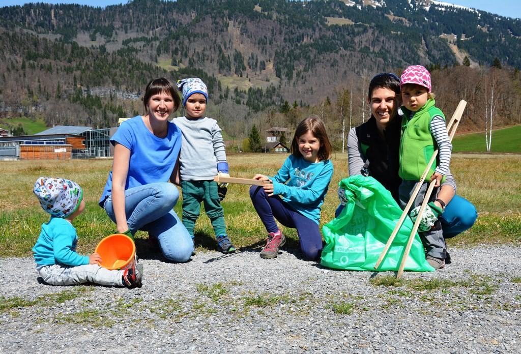 Bezau: Teilnahme an der Landschaftsreinigung