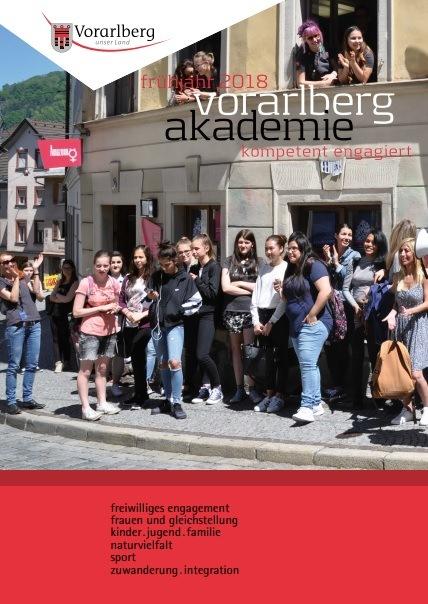 Vorarlberg Akademie: Frühjahrsprogramm