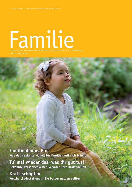 FAMILIE: Frühjahrsausgabe 2018
