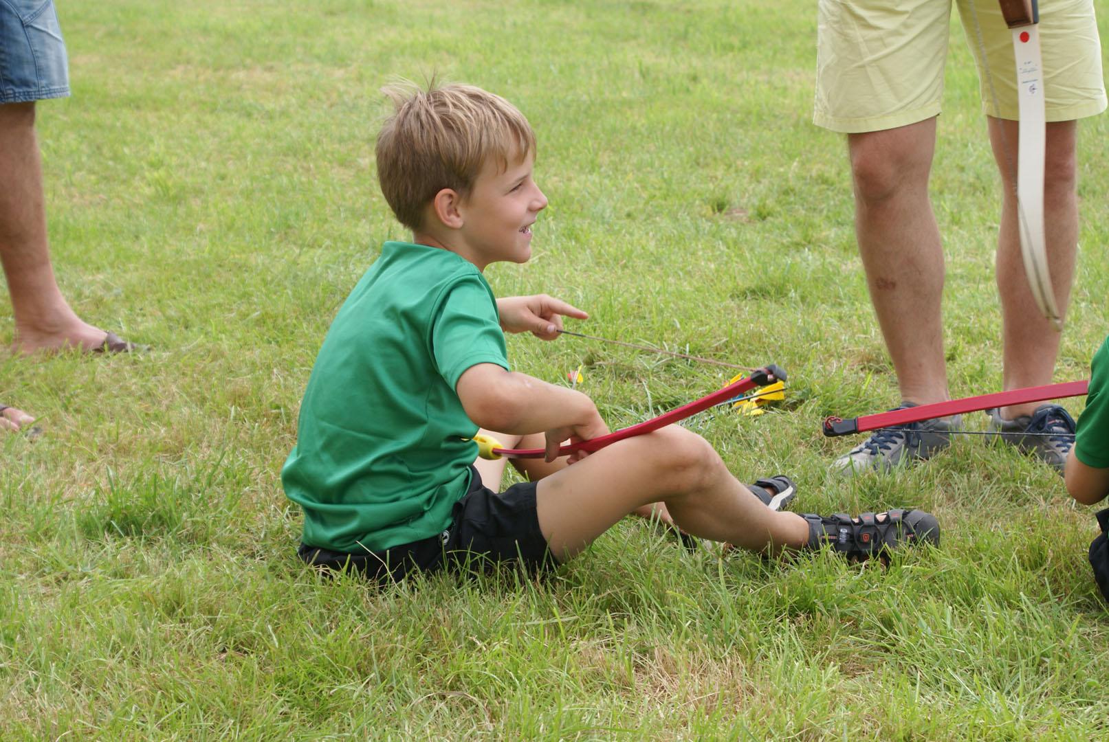 Alberschwende: Väter & Kinder zu Besuch bei den Schützen