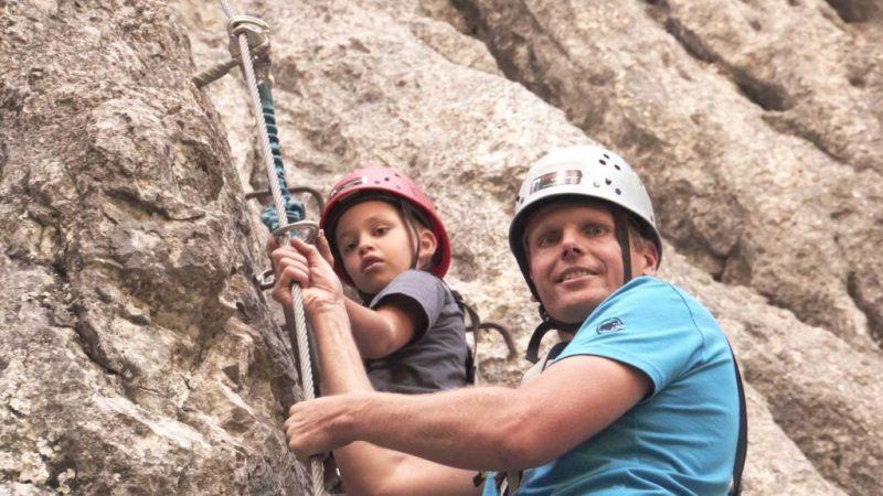 Kleinwalsertal: Kletterabenteuer mit Papa