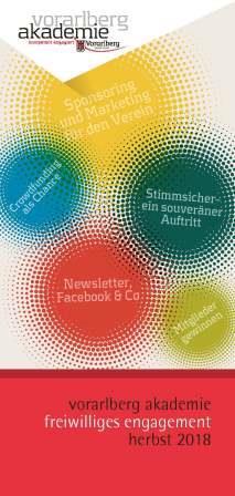 vorarlberg akademie: Herbstprogramm