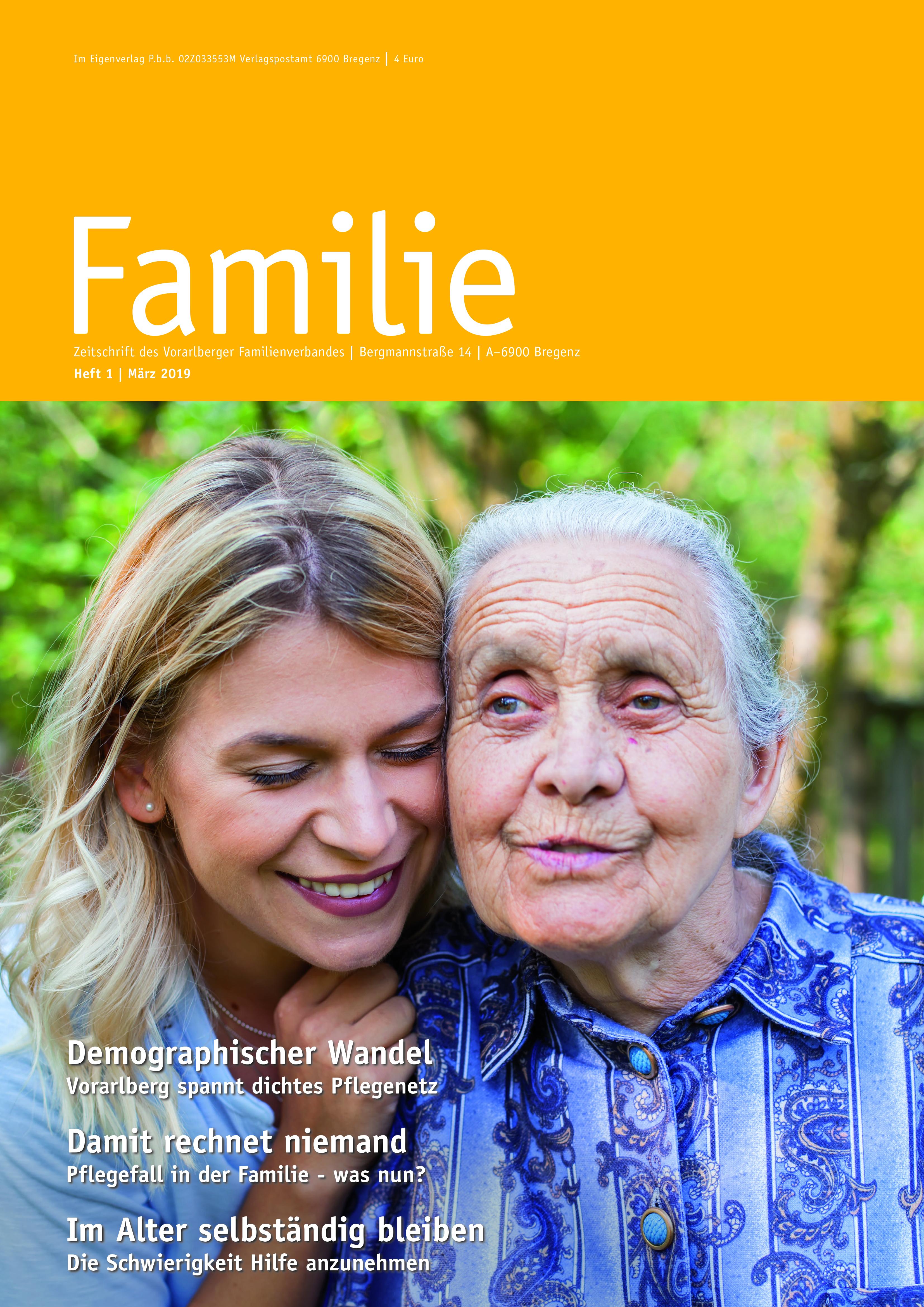 FAMILIE: Frühlingsausgabe 2019