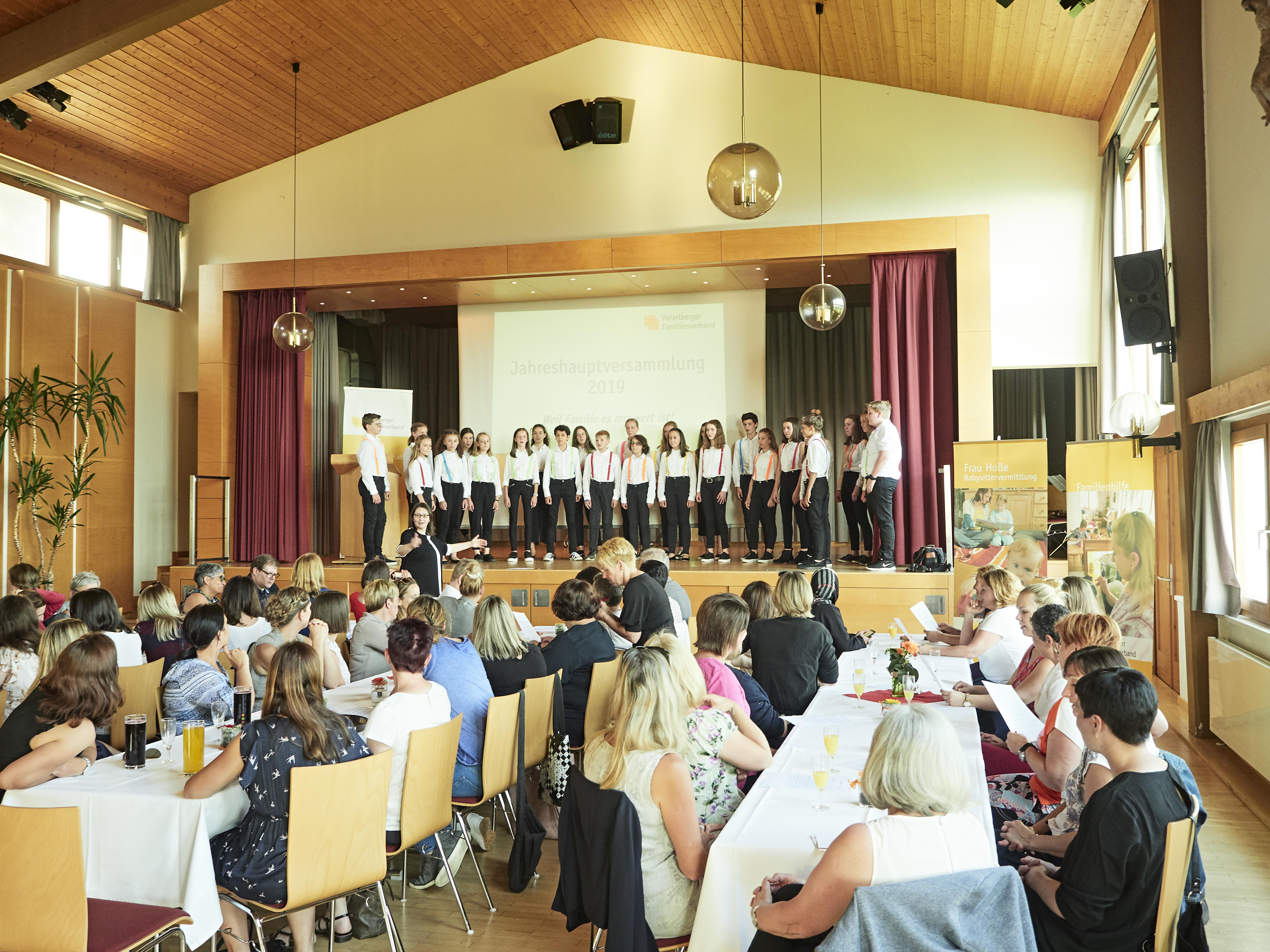 Jahreshauptversammlung des Vorarlberger Familienverbands
