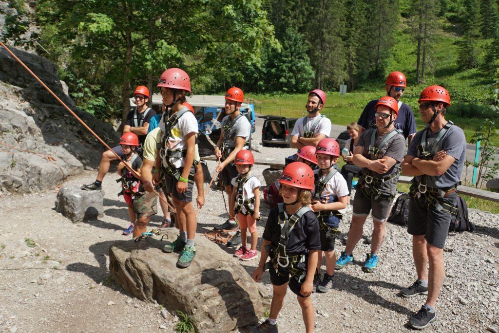Kleinwalsertal: Kletternachmittag mit dem Papa