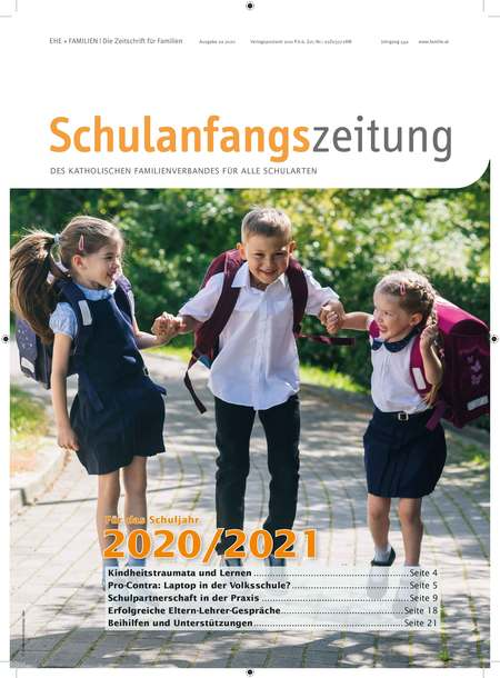 Druckfrisch: Die Schulanfangszeitung 2020/21