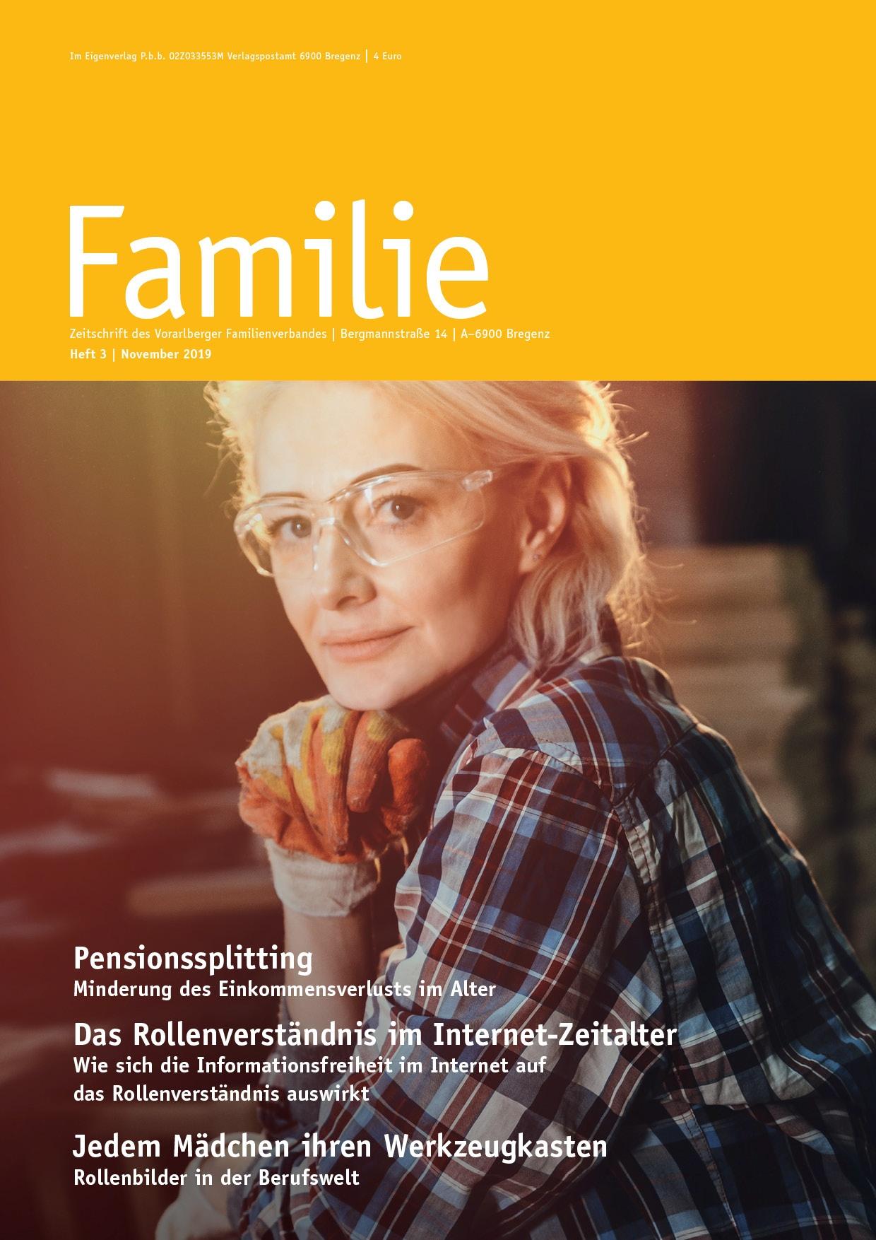 FAMILIE: Herbstausgabe 2019