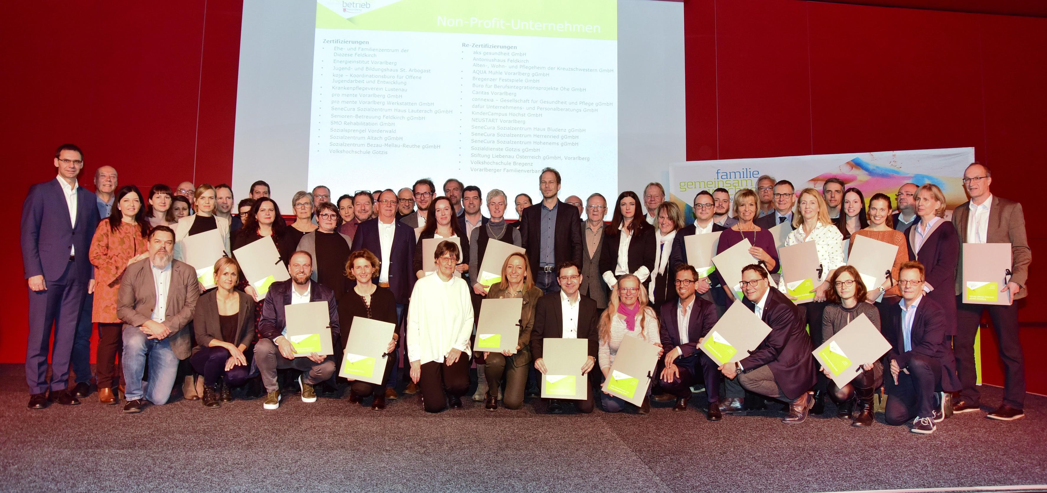 Auszeichnung familienfreundlicher Betrieb 2020-21
