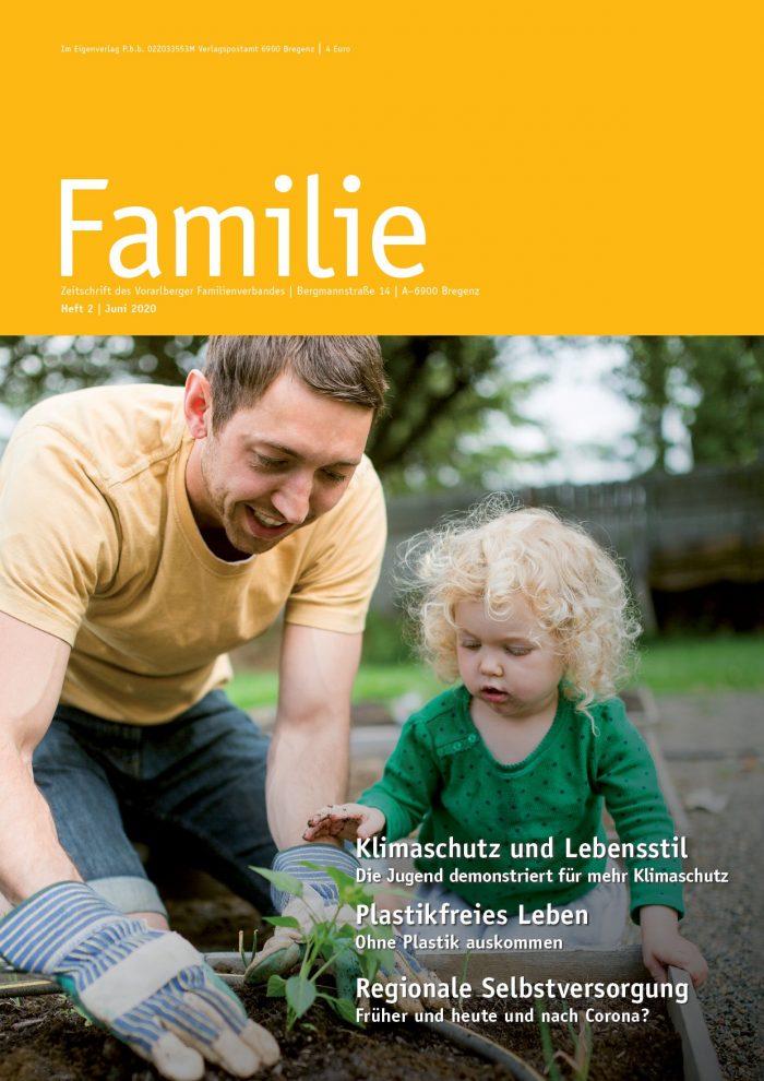 Zeitschrift FAMILIE: Sommerausgabe 2020