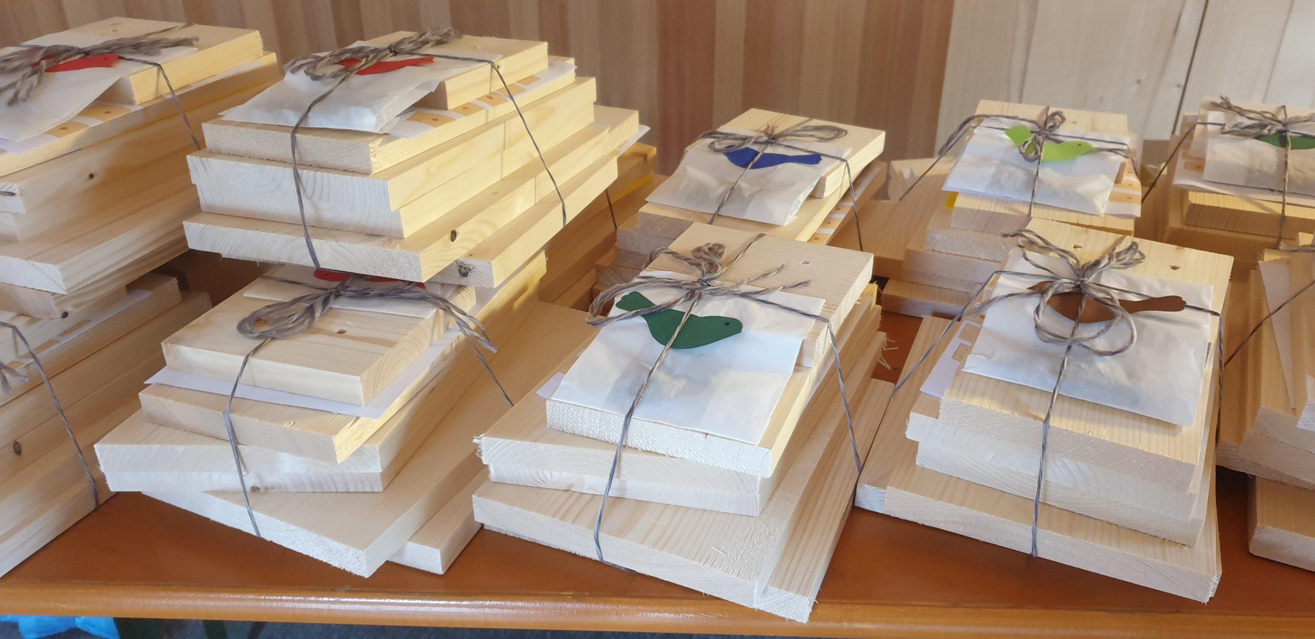 Bezau-Reuthe: Bastelpakete für zu Hause